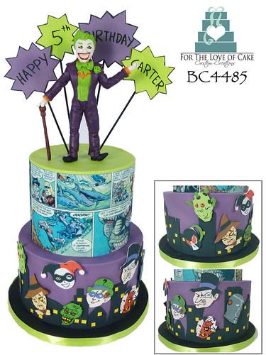 BC4485 Villian Joker Batman Comic DC 5 Birthday