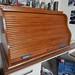 Oak rolltop desk top