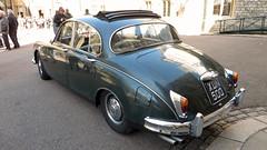 Windsor, Berkshire - UK (Mic V.) Tags: uk 2 england car sedan britain mark united great royal kingdom voiture ii windsor mk2 british jaguar berkshire saloon 34 mk 1961