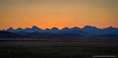 Rocky Mountain Sunset (Witty nickname) Tags: sunset panorama orange mountains landscape dusk pano panoramic rockymountains prairies watertonnationalpark pinchercreek crowsnestpass d800 nikkor70200mmf28vr albertalandscape nikond800