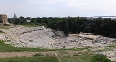amphitheatre (Lalallallala) Tags: travel italy italia syracuse siracusa archeologicalpark matka