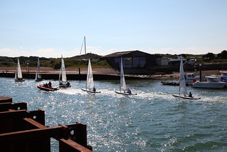 Towing the Yachts out - Littlehampton
