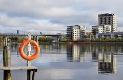 Joensuu - Finland (s.niemelainen) Tags: city colors suomi finland river colours north autumm joensuu syksy joki karjala kaupunki carelia vrit pelastusrengas tornitalo suvantosilta mattolaituri pohjois pielisjokis
