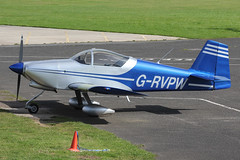 G-RVPW - 2004 build Vans RV-6A, visiting Barton (egcc) Tags: manchester vans barton waldron rv6 cityairport deeley lycoming rv6a o320 egcb grvpw pfa181a13481