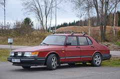 Saab 900 (saabrobz) Tags: saab 900