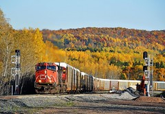 Misson Creek (Missabe Road) Tags: cn es44dc m357 2228 steeltonhill