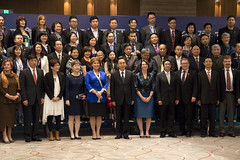 BC-Guangdong celebrate 20th anniversary (BC Gov Photos) Tags: guangdong mission wat trade economy internationaltrade bcgovernment governmentofbritishcolumbia bcjobsplan missiontrade 2015christy clarkteresa