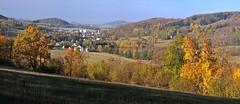 Panorama Vápenné z vrcholu Homole (Libor59) Tags: autumn color landscape czechrepublic podzim barva krajina česko nikonflickraward vápenná