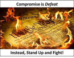 Compromise (BrotherWatch) Tags: america cruz constitution teaparty courage romney compromise quisling