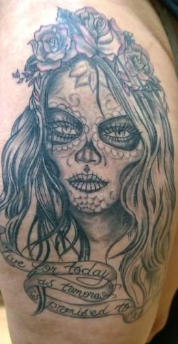 "Tattoo i did for sarah tamlin <a style=""margin-left:10px; font-size:0.8em;"" href=""http://www.flickr.com/photos/123052522@N02/22790445202/"" target=""_blank"">@flickr</a>"