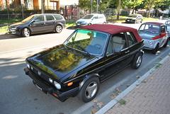 Volkswagen Golf Cabriolet (TAPS91) Tags: golf volkswagen solo cuore cabriolet 2° raduno carburatore