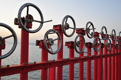 Handles at Sea... (Gunnar Eide) Tags: ocean sea yard dock ship transport maritime shipping tanker tankers odfjell