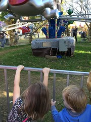 """Paul and Inde Watch a Ride at Sonny Acres • <a style=""""font-size:0.8em;"""" href=""""http://www.flickr.com/photos/109120354@N07/23198545786/"""" target=""""_blank"""">View on Flickr</a>"""