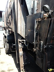 (Scott (tm242)) Tags: classic trash dumpster truck garbage side debris rear disposal front bin management rubbish trucks fl waste refuse recycle loader recycling load hopper rl haul msl amrep