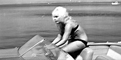 Elke Sommer as Elke veins the wheel in Sweet Ecstasy (St. Burke) Tags: new pink people distortion cinema black france cute eye art film public television bar speed hair french this boat photo tv video flickr riviera waves lashes eyelashes you sweet sommer bare makeup tags cine any pop follow safety add bikini f level page blonde boating info rays ecstasy safe member steer viewing glitch elke feedback commenting additional starlet provide liner hunch midrift coquettish sexploitation photoadd