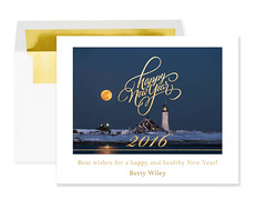 Happy New Year! (betty wiley) Tags: lighthouse night massachusetts newyear fullmoon scituate bettywileyphotography