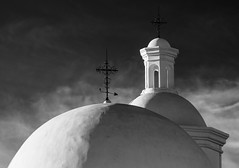 Crosses of Arizona-2748-2 (In the Shadow of His Cross) Tags: tucsonarizona whitedoveofthedesert sanxaviermissiondelbac intheshadowofhiscross