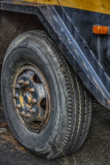 Crane Wheel (PAJ880) Tags: ri detail wheel mobile vintage crane tire moto lorain woonsocket