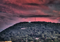 Roanoke Star Late Summer Twilight (Terry Aldhizer) Tags: terryaldhizer roanoke star late summer twilight mountain mill clouds sky sunset evening terry aldhizer wwwterryaldhizercom