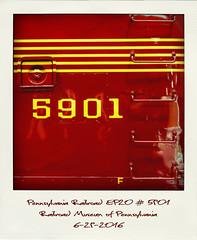 Pennsylvania Railroad EP20 #5901 (Jeff_B.) Tags: railroadmuseumofpennsylvania strasburg train trains railroad pennsylvania 5901 ep20 gm generalmotors electromotive emd
