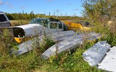 C-GTCC bent (John W Olafson) Tags: cgtcc seaplane airplane crash wreck sandylakeseaplanes selkirk manitoba cessna206 stationair
