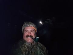 Smoking my pipe in the moonlight on a camping trip. (hunter_185) Tags: pipe pipesmoking tobacco tobaccopipe camping