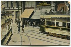 Ipswich trams (Simon_K) Tags: ipswich suffolk eastanglia 1919 trams transport borough corporation latticebarn bramfordroad service tramway tramlines