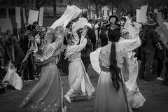 walk together adelaide - oct 2016 - 220266 (liam.jon_d) Tags: aussiessaywelcome realaustralianssaywelcome walktogetherwelcometoaustraliayourewelcomehere 2016 mono adelaide arty australia australian bw billdoyle blackandwhite celebration chinese chinesedancer community communityevent dance dancer event fan fandance fandancing monochrome multicultural parade peopleimset portrait portraitimset protest rally rallyingimset sa saywelcome southaustralia southaustralian traditional traditionalchinesedancer walktogether walktogether2016 welcome welcometoaustralia