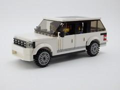 Range Rover SVAutobiography (wooootles) Tags: svautobiography landrover rangerover legomoc lego moc suv legosuv ultraluxury