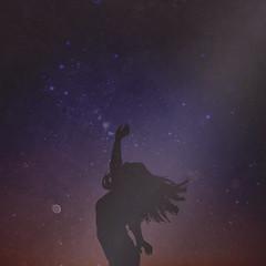 it is vast. (Stellie Chavez) Tags: fineartphotography fineart conceptualphotography conceptual conceptphotography surrealphotography cosmos stars silhouette elliechavezphotography