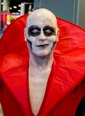 Deadman (J Wells S) Tags: candidportrait portrait contactlenses facepaint whiteface cincinnaticomicexpo dukeenergycenter cincinnati ohio cosplay costume dressup deadman dccomics