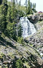 Photography of a waterfall for hiking memories (kc_hoang) Tags: yellowstone waterfall hiking sightseeing worldtravel travelplanet worldwidelandscapes tamminhphotography sonyalpha sonya350