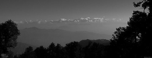 view from nag tibba summit