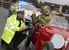 Mr Toad...in a Hole (Greater Manchester Police) Tags: windinthewillows rufushound lowrytheatre policetrafficcar policecar policevehicle mrtoad toadoftoadhall musical