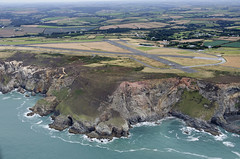 Perranporth Airfield - Cornwall aerial image (John D F) Tags: rafperranporth perranporth airfield cornwall aerial ww2fighterbase aerialphotography aerialimage aerialphotograph aerialimagesuk aerialview