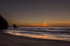 Adraga Sunset (Alexandre de Sousa Photography) Tags: 2016 adraga beach portugal almoageme sunset longexposure long exposure water atlantic ocean sand