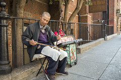 Man playing the Erhu (dr_stan3) Tags: man instrument erhu sanfrancisco chinese chinatown california streetphotography music canon ef2470mmf28liiusm