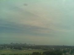 Sydney 2016 Oct 21 11:28 (ccrc_weather) Tags: ccrcweather weatherstation aws unsw kensington sydney australia automatic outdoor sky 2016 oct morning