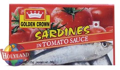 Sardines in Tomato Sauce 125gm (holylandgroup) Tags: canned fruit vegetable cannedfruit cannedvegetable nonveg jalapeno gherkins soups olives capers paneer cream pulps purees sweets juice readytoeat toothpicks aluminium pasta noodles macroni saladoil beverages nuts dryfruit syrups condiments herbs seasoning jams honey vinegars sauces ketchup spices ingredients