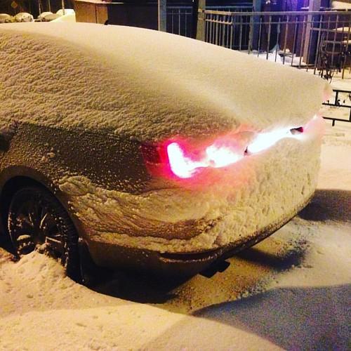 #winter #moscow #2016 #москва #снег #jetta #volkswagen