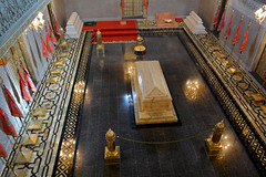Mohammed V tomb 2 (PhillMono) Tags: nikon dslr d7100 mohammed v tomb art architecture mausoleum morocco rabat islamic tradition monarchy royalty empty reflection coffin