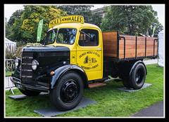 Bedford Truck (veggiesosage) Tags: nottingham beerfestival robinhoodbeerfestival fujifilm fujifilmx20 x20