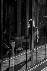 riflessi (phalessiaballestro) Tags: nikon camera streetphotography black blackandwhite white riflessi reflexes mirror specchio