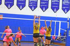 IMG_10375 (SJH Foto) Tags: girls volleyball high school lampeterstrasburg lampeter strasburg solanco team tween teen east teenager varsity net battle spike block action shot jump midair