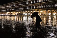 ghost (poludziber1) Tags: city colorful cityscape street skyline venice venezia water walk umbrella people europe italia italy night light gold f64g80r1win challengegamewinner matchpointwinner mpt578