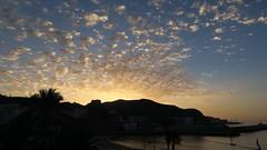 Sunrise at Gran Canaria (mpersson60) Tags: spanien spain grancanaria soluppgng sunrise hav sea berg mountain moln clouds