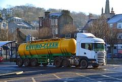 (Zak355) Tags: rothesay isleofbute bute scotland scottish scania enviroclean truck lorry tanker haulage