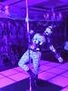 Pole Dancing Pony 2 (AgentDrow) Tags: poledance poledancing ponyplay zentai corset ponygear bdsm
