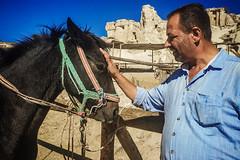 Cemal (Melissa Maples) Tags: ortahisar turkey trkiye asia  apple iphone iphone6 cameraphone cemalsranch cemalranch ranch cemal turk man horse kapadokya cappadocia trkiye