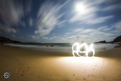 Cloudy beach (MISHKA Vision - Light Graffer) Tags: australie australia lightpainting lightgraff longexposure expositionlongue nightphotography roadtrip